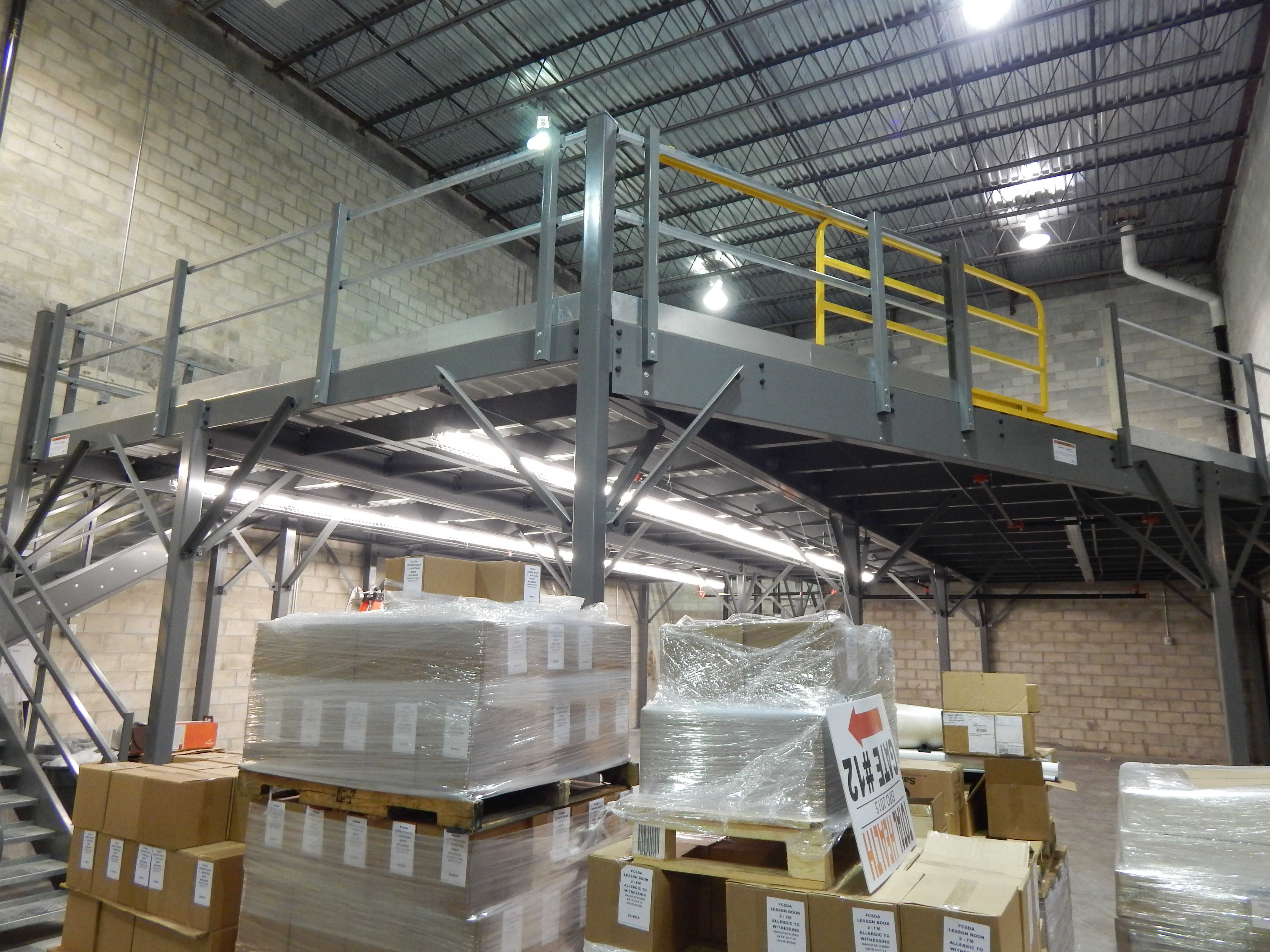 Mezzanine Design and Install   Material Handling - (New