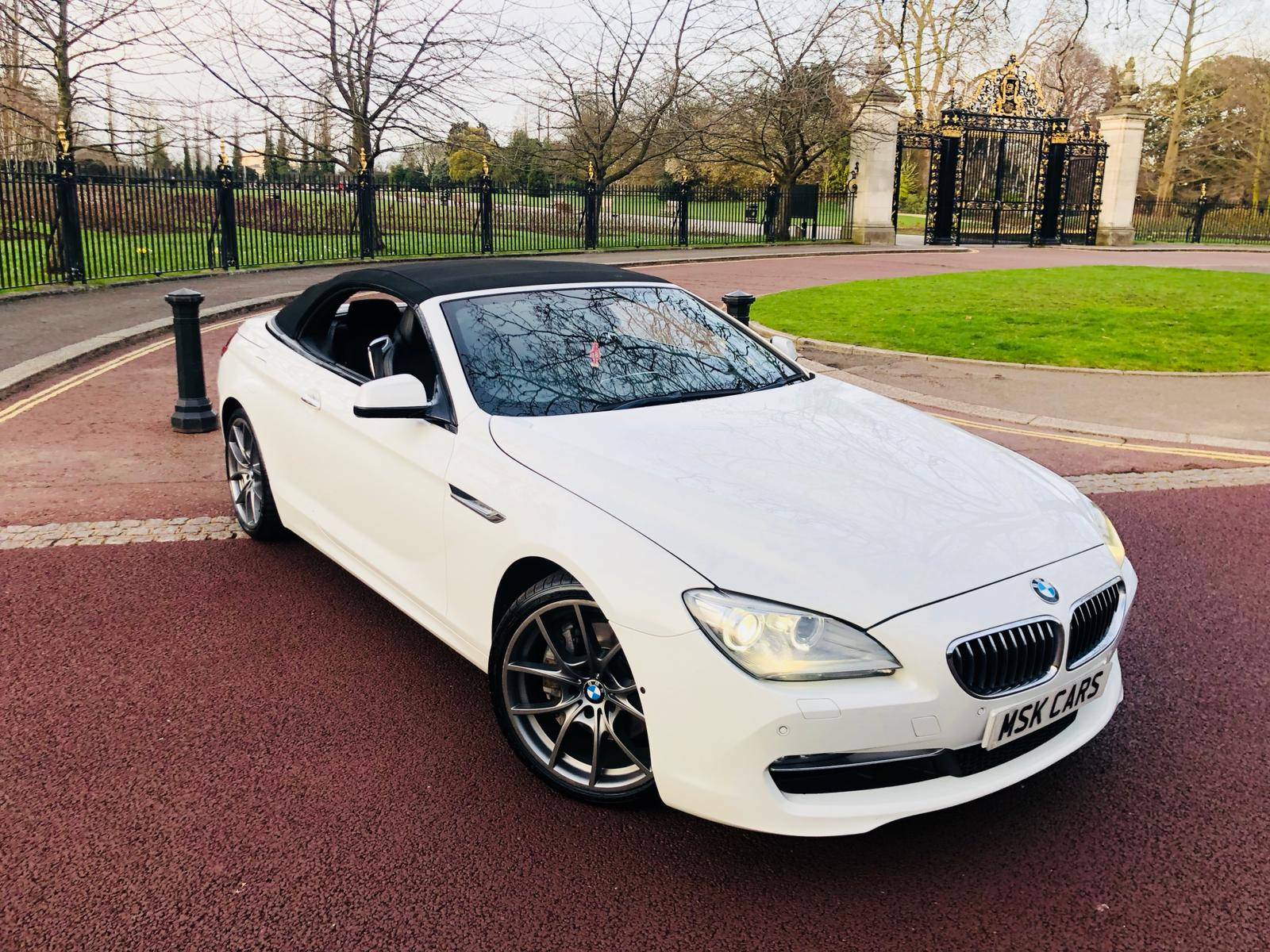 BMW 6 Series 650i Sport Convertible