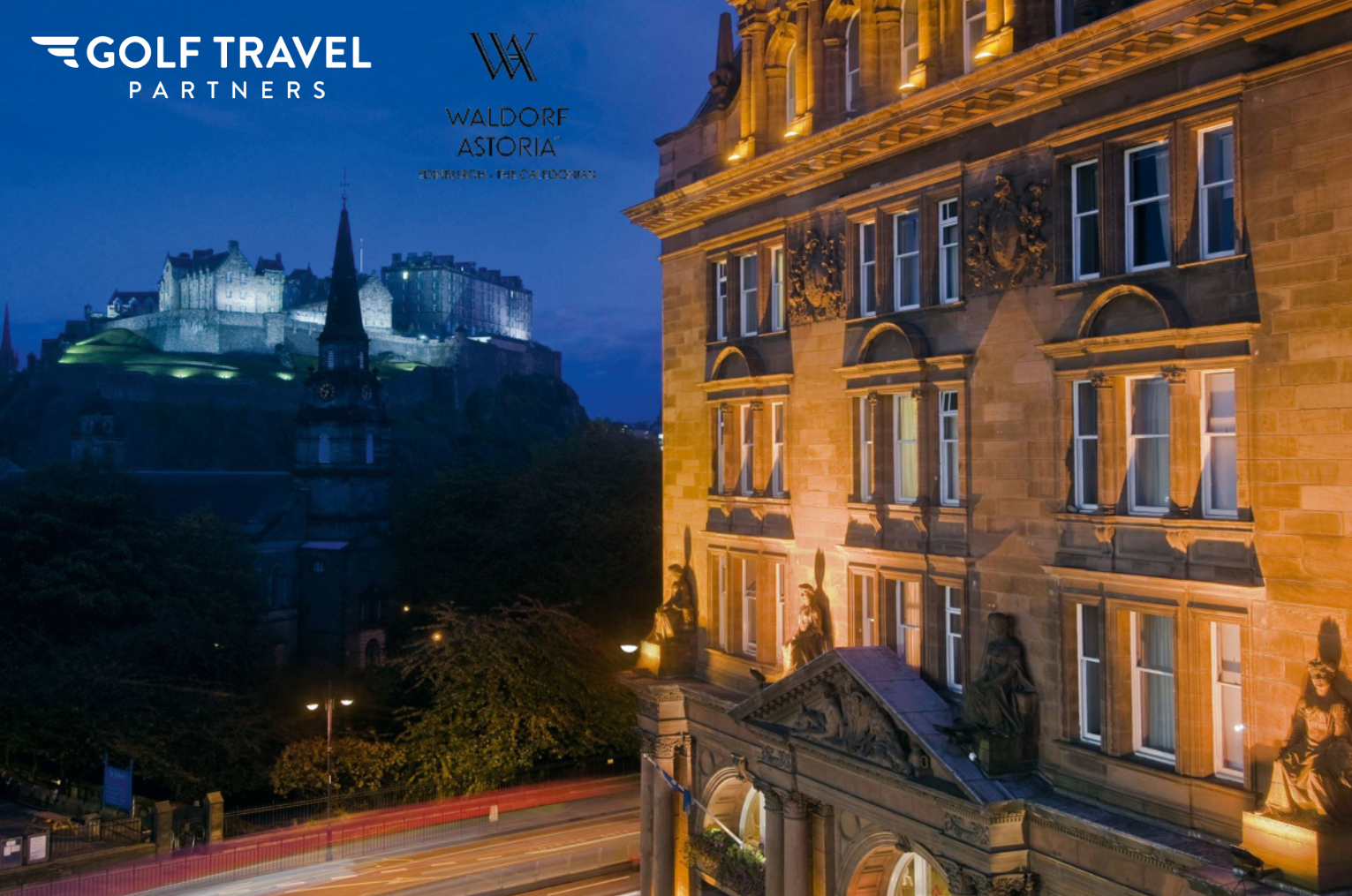 The Open 2021 - Tournament Stay - 5 Nights - 5 Star Edinburgh