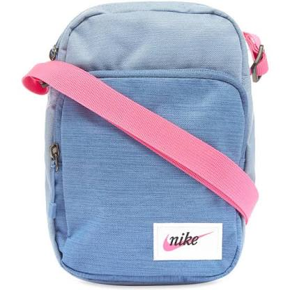 Small Heritage Item Bag Blue-Pink-White