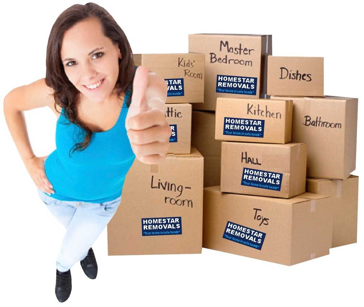 Homestar Removals of Uxbridge offer a professional packing service too