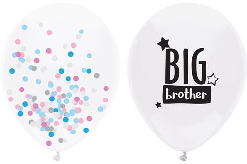 Big Brother ballon met confetti ballon