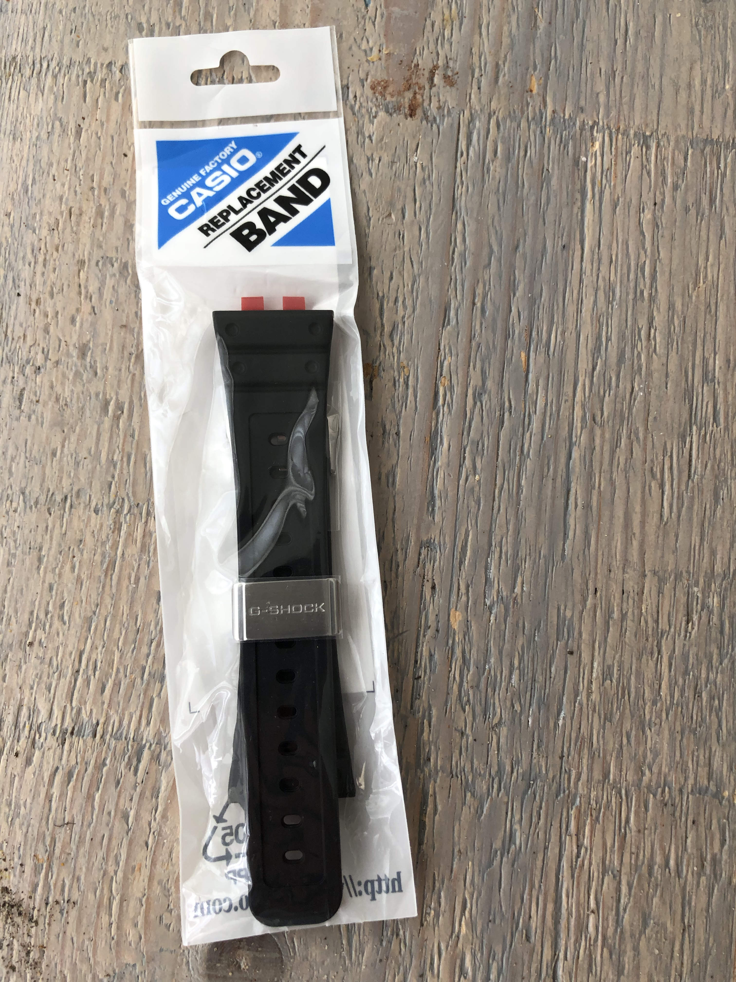 Casio G-Shock GWM-B5000 NOS Resin strap