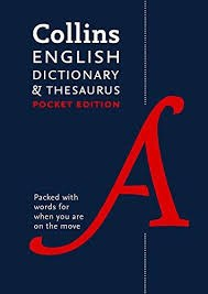 ENGLISH Pocket Dictionary & Thesaurus