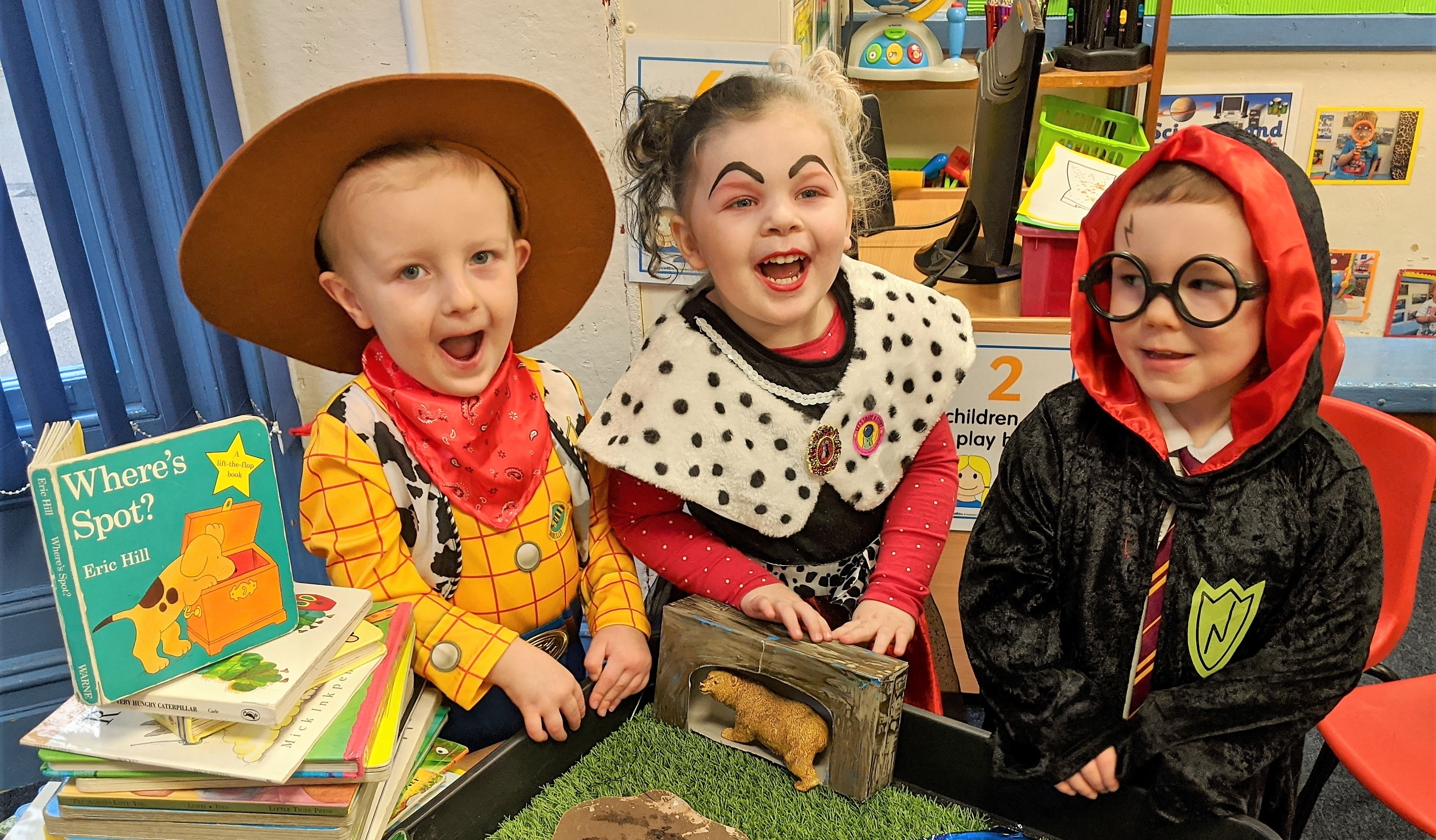 Little Trinity Nursery Enjoy World Book Day
