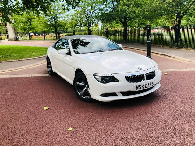2010 BMW 6 Series 650i Sport Convertible