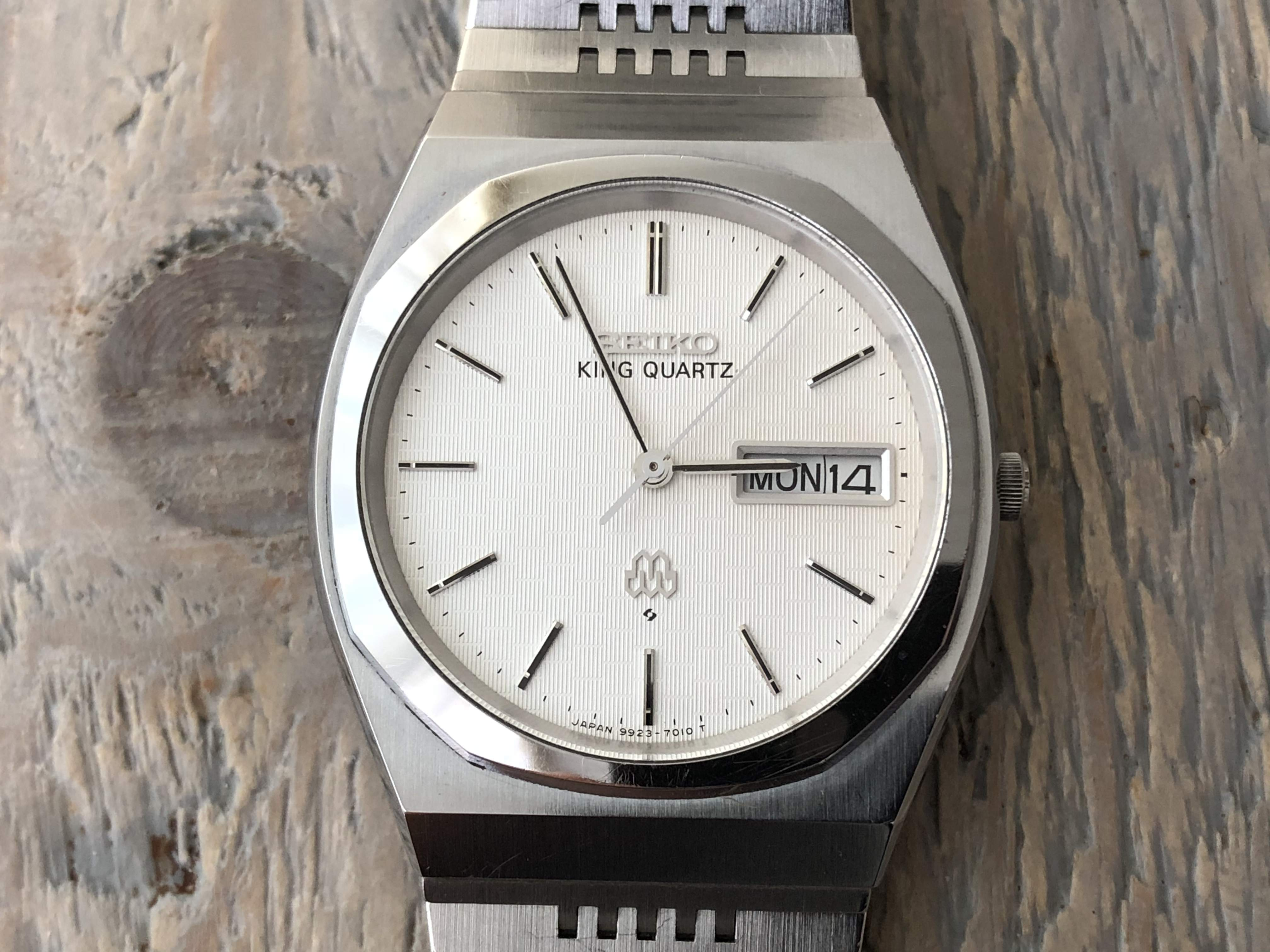 Seiko King Quartz 9923-7010 (Sold)