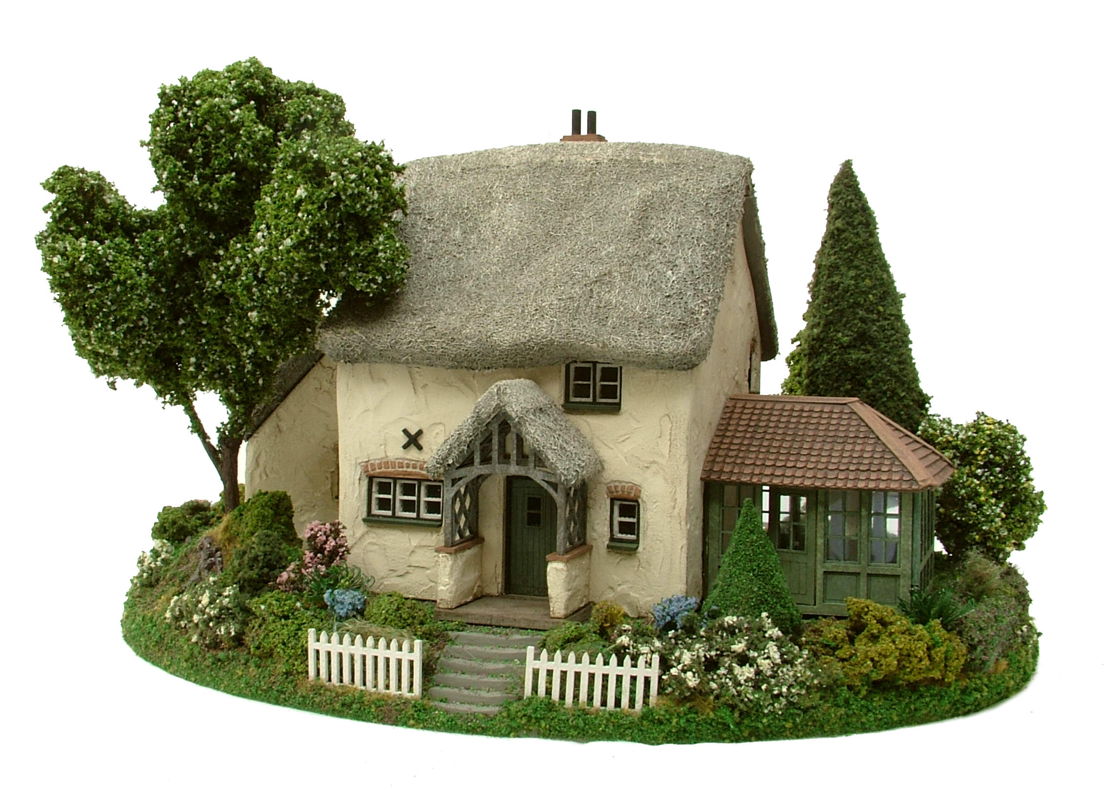 Hedgerow Cottage, Garden Room & Garden Display Base