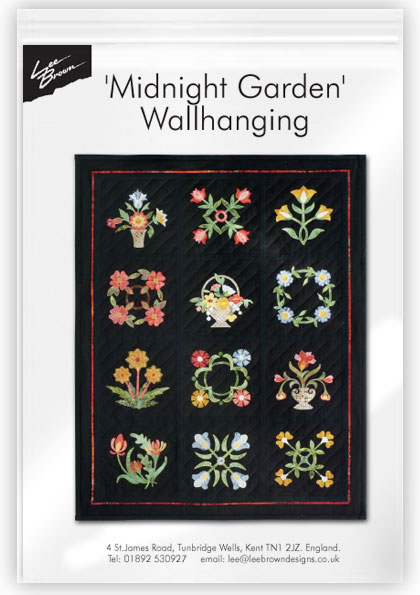 Midnight Garden Wall Hanging