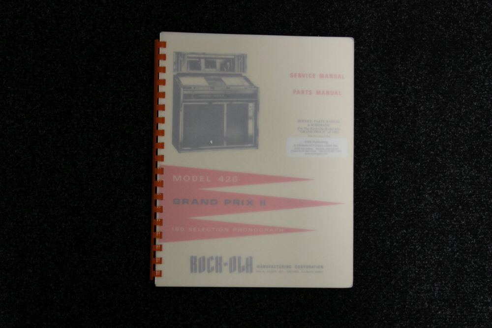 Rock-ola - Service en Parts Manual - Model 426