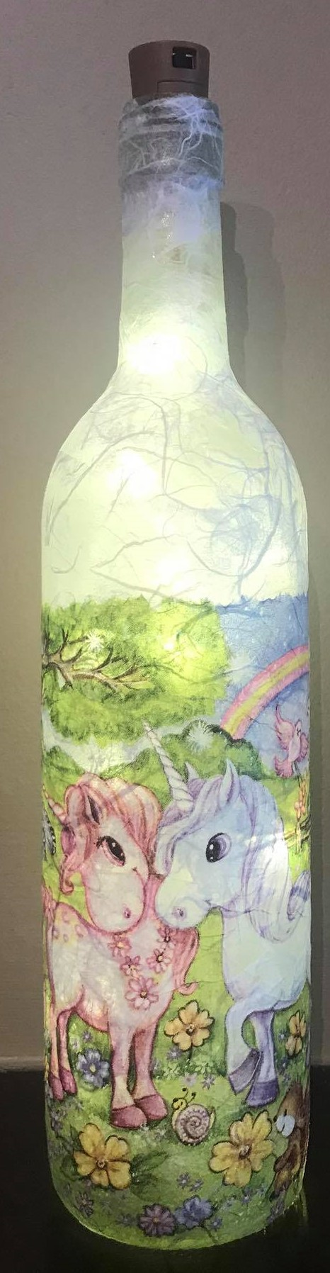 Unicorns Light Up Bottle