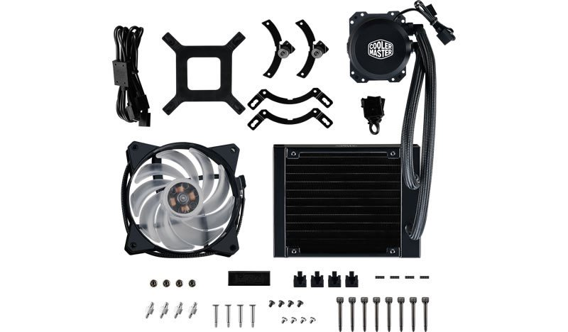 Cooler Master MasterLiquid ML120L RGB Liquid CPU Cooler
