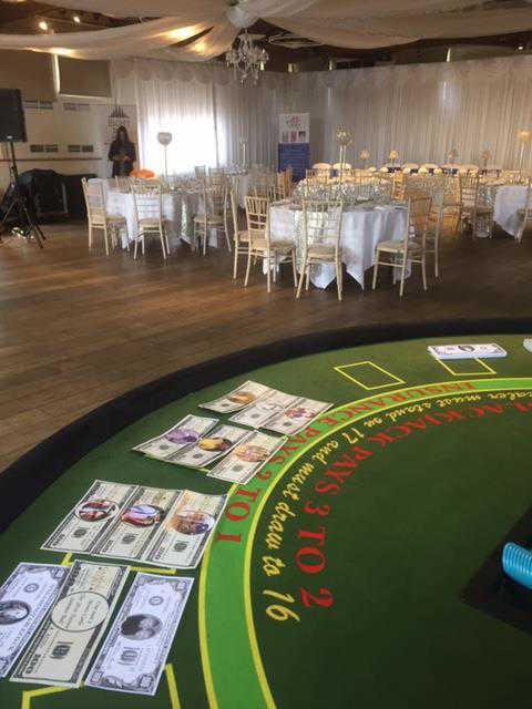 A fun casino is an unusual and unique idea for your wedding entertainment. Call us now to discuss your bespoke wedding package.