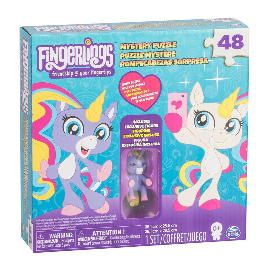 Fingerlings Mystery 48pc Puzzle With Exclusive Figure