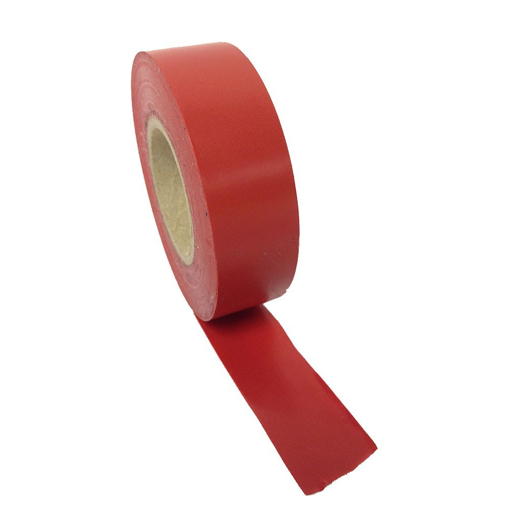 Red PVC Tape 19mm