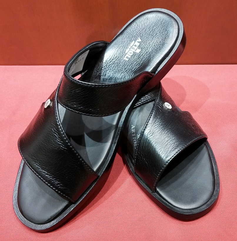 Sandal Style 50 Black Leather