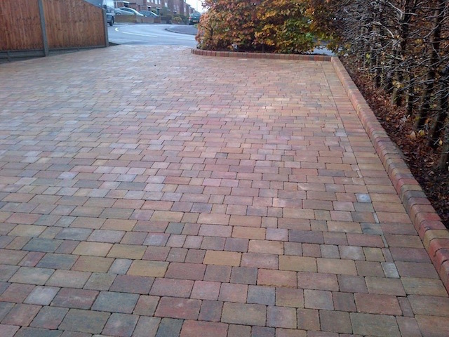 New block paved drive in Block paved driveways Addlestone, Surrey