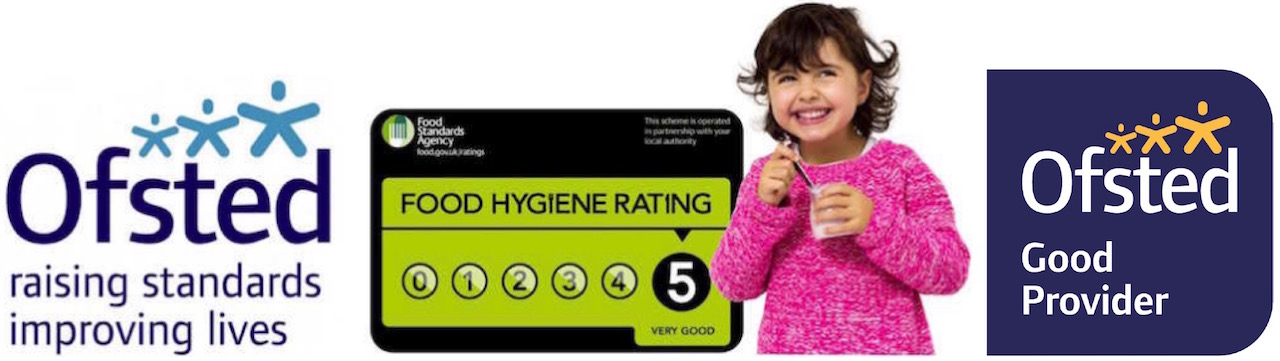 The Little Nut Tree Holiday Club is Ofsted registered and has a Food Standards Agency 5 very good rating