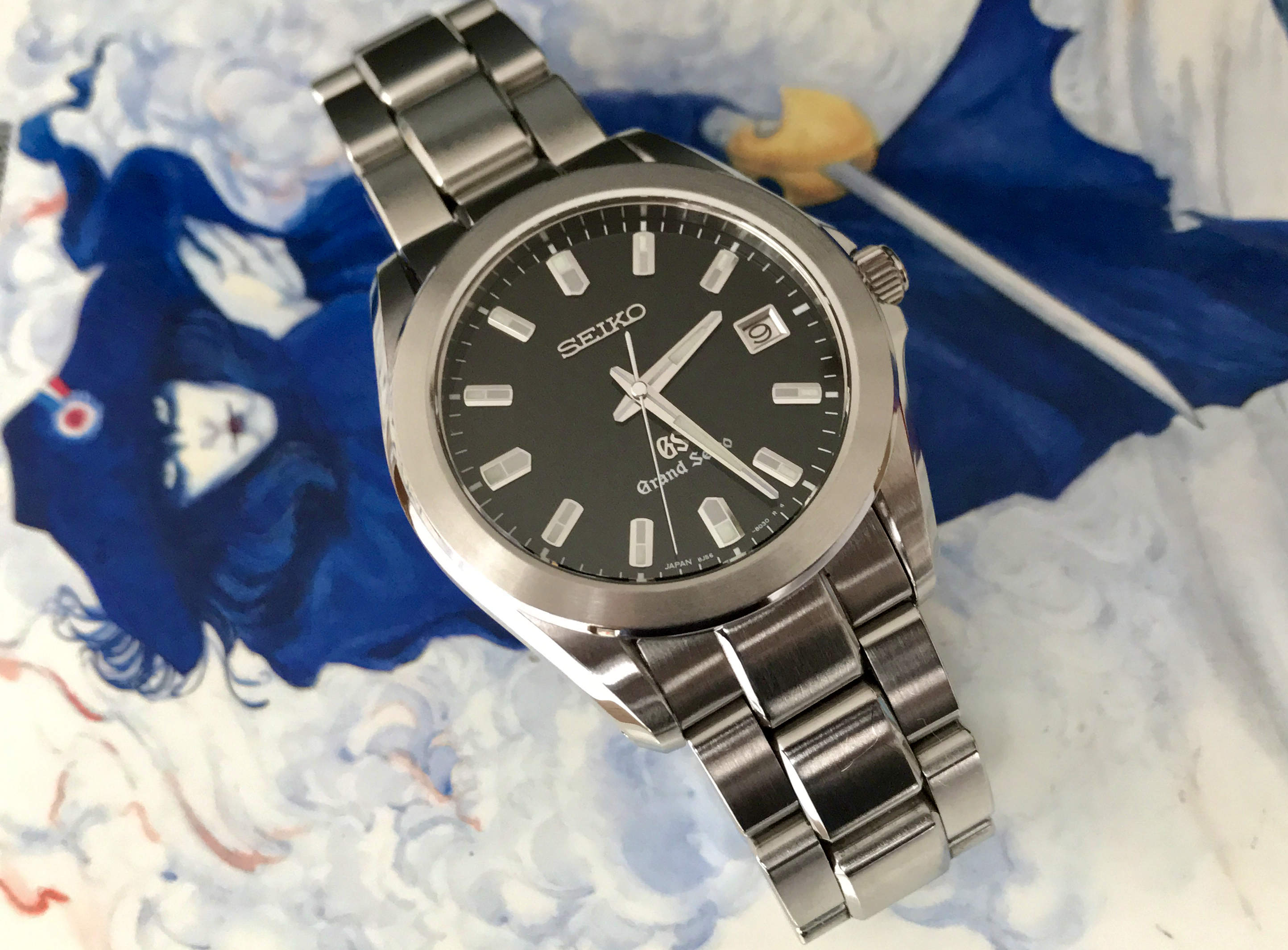 Grand Seiko 8J56-8020 SBGF021 Black Tatami (Sold)