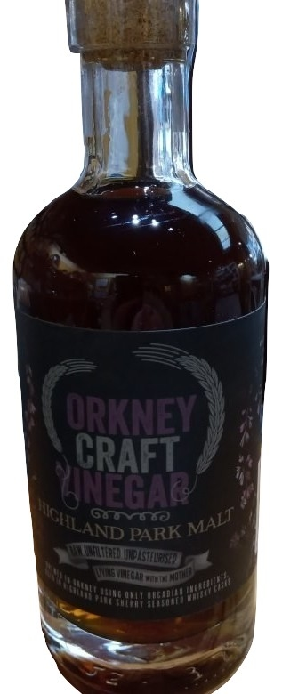 Highland Park Malt Vinegar by Orkney Craft Vinegars
