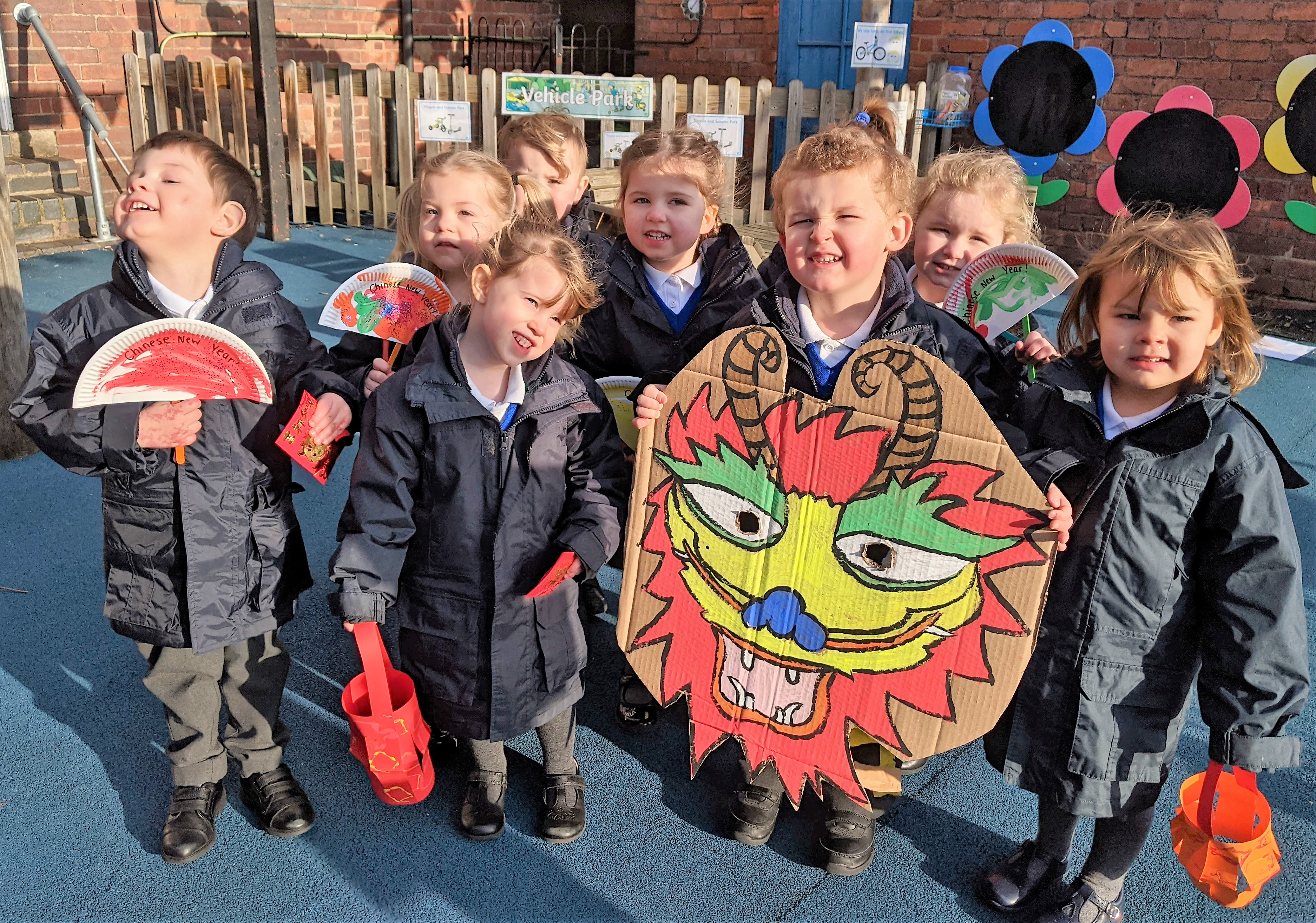 Chinese New Year Celebrations at Kidderminster Nursery