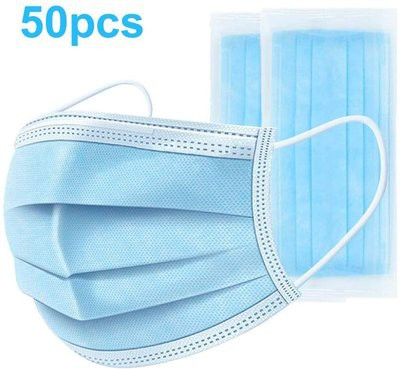 3PLY Standard Disposable Face Mask (Box of 50)
