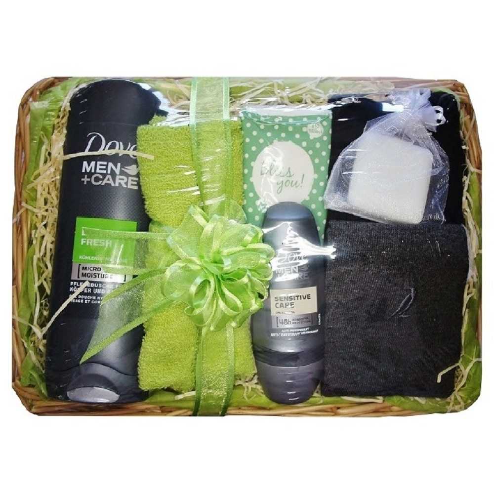 Gift set for Him, with 'Dove, Extra Fresh'