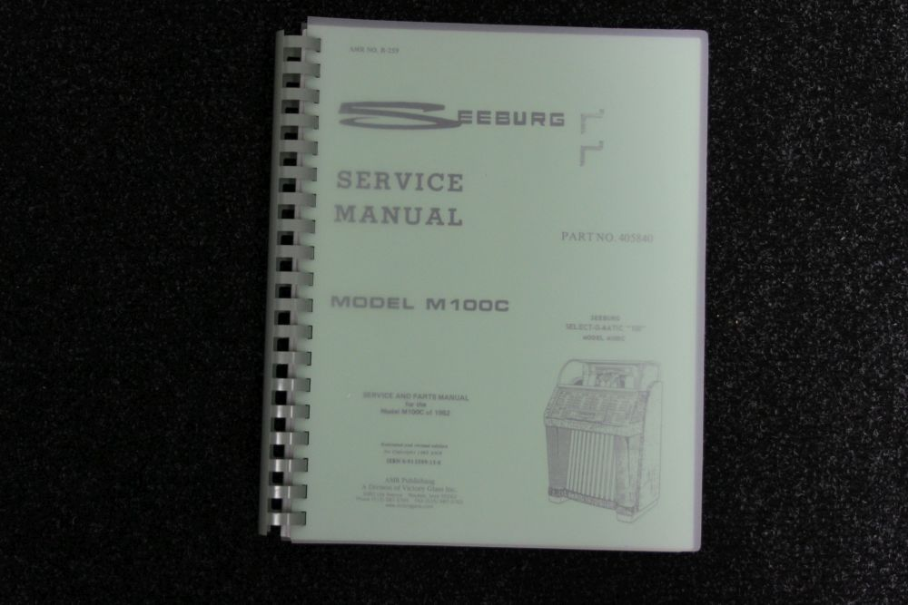 Seeburg - Service and Parts Manual Model M100C