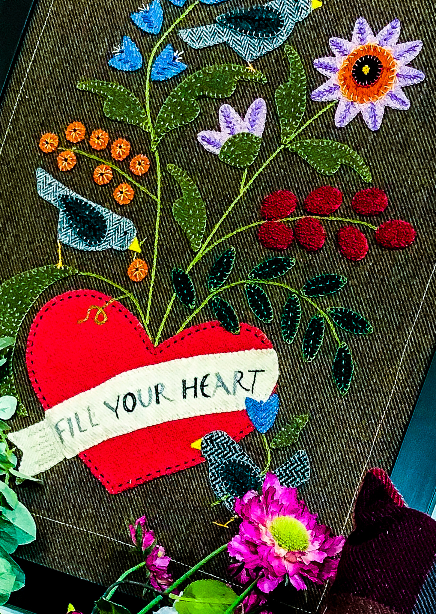 "Fabric Affair: ""Fill your heart, Bonnie Sullivan"""