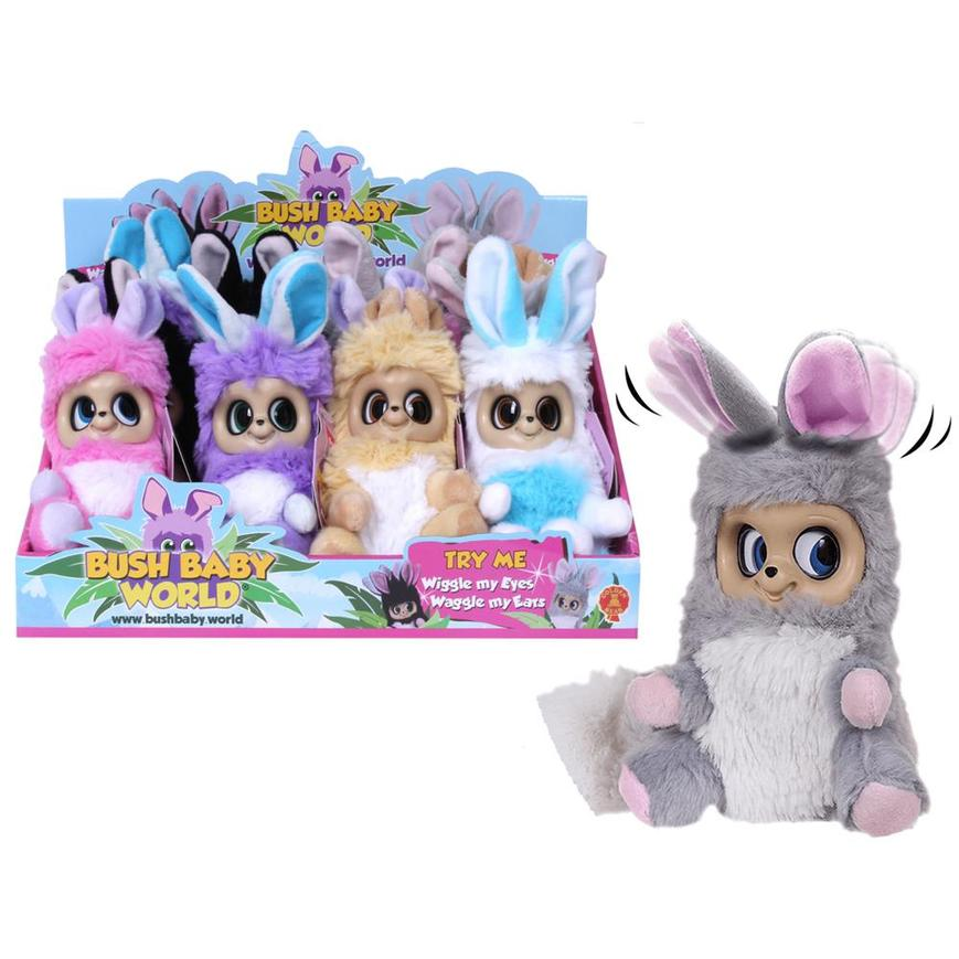 "Bush Baby World Dreamsters Moving Eyes 6"" Soft Plush Toy"