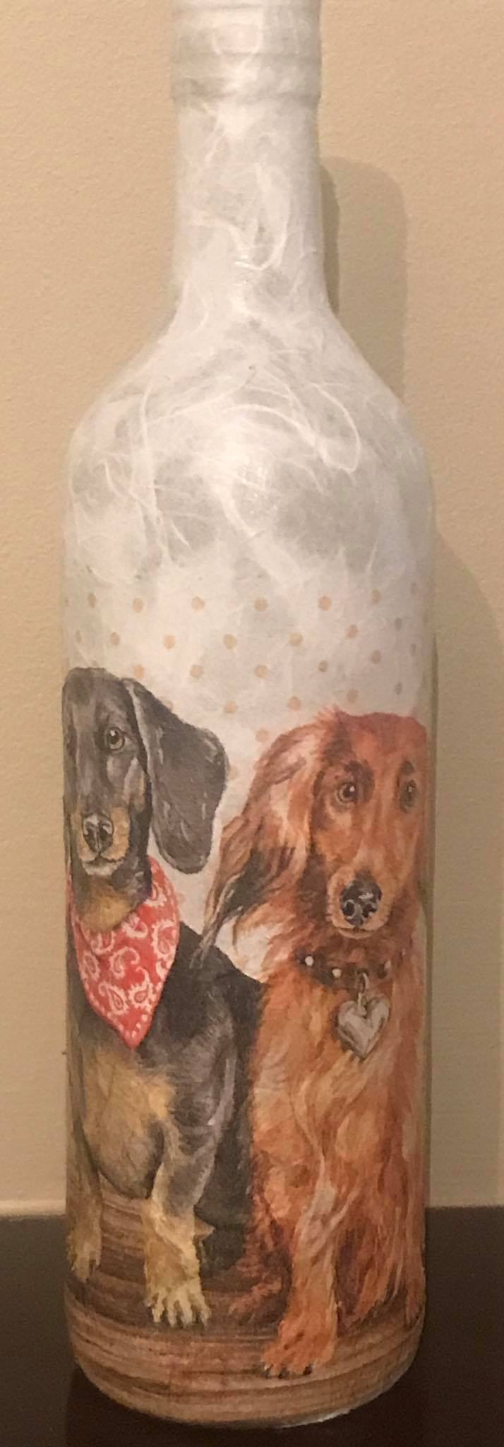 Dogs Light Up Bottles
