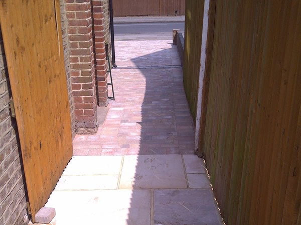 Patio and driveway Ashford, Middlesex