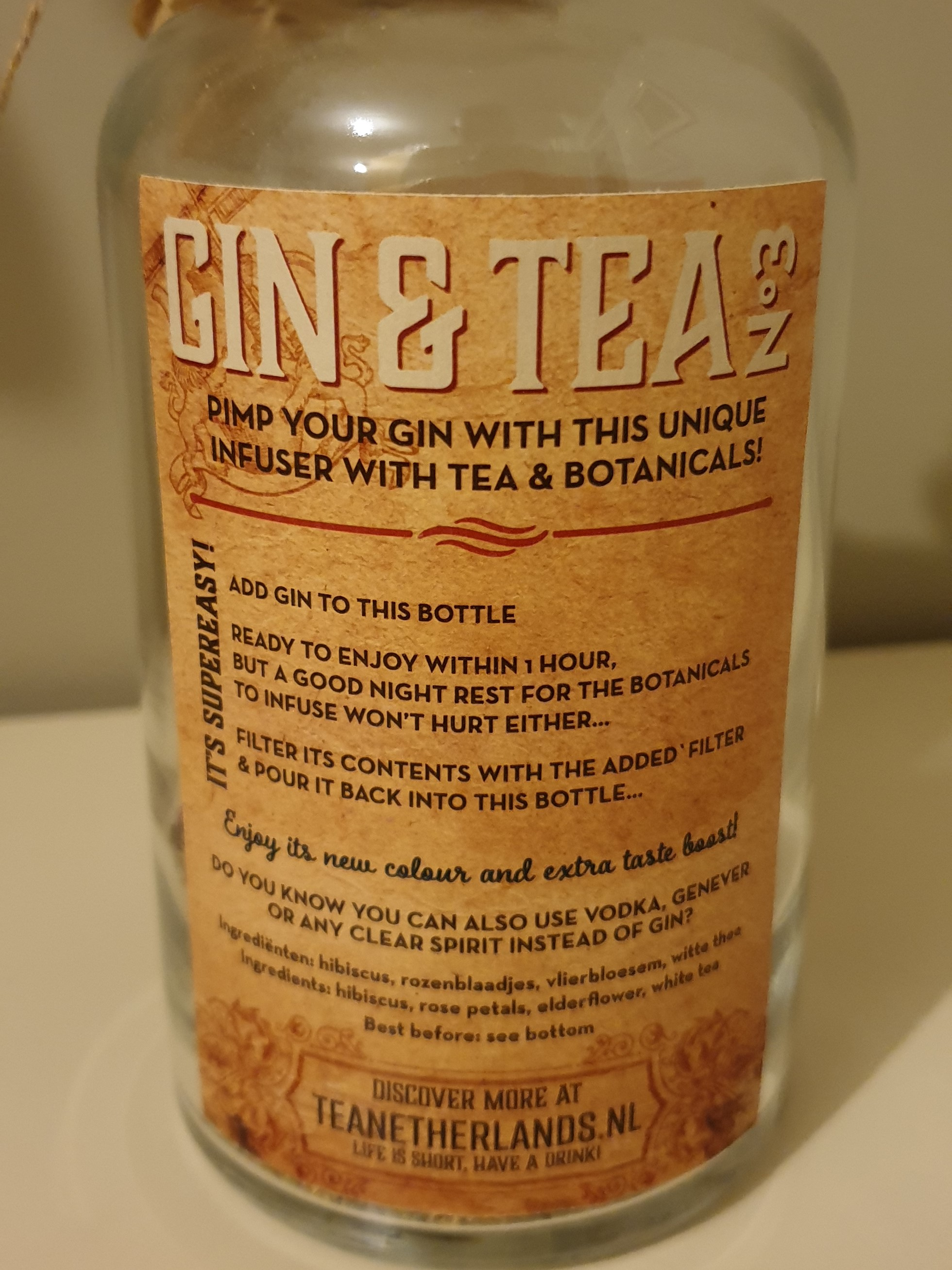 Tea Netherlands Gin mix nr.3
