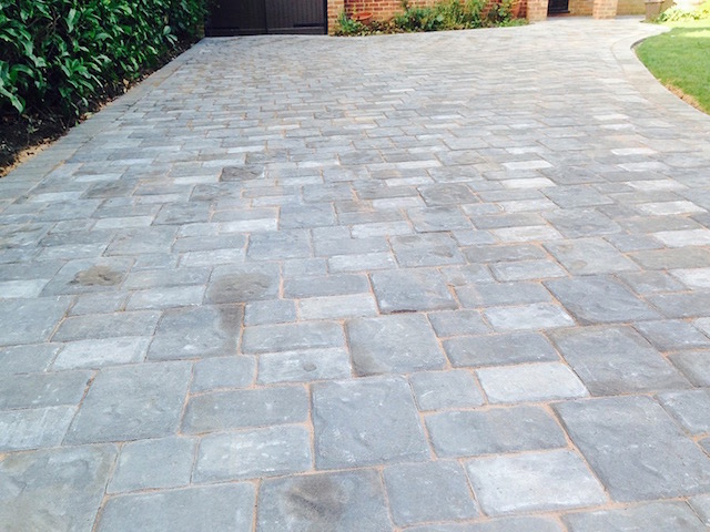 Best of Block Paving Surrey pleted the installation of a curved front driveway and door step in Regatta Silver Haze block paving for a client in Dorney near Top Design - Elegant paving prices Pictures
