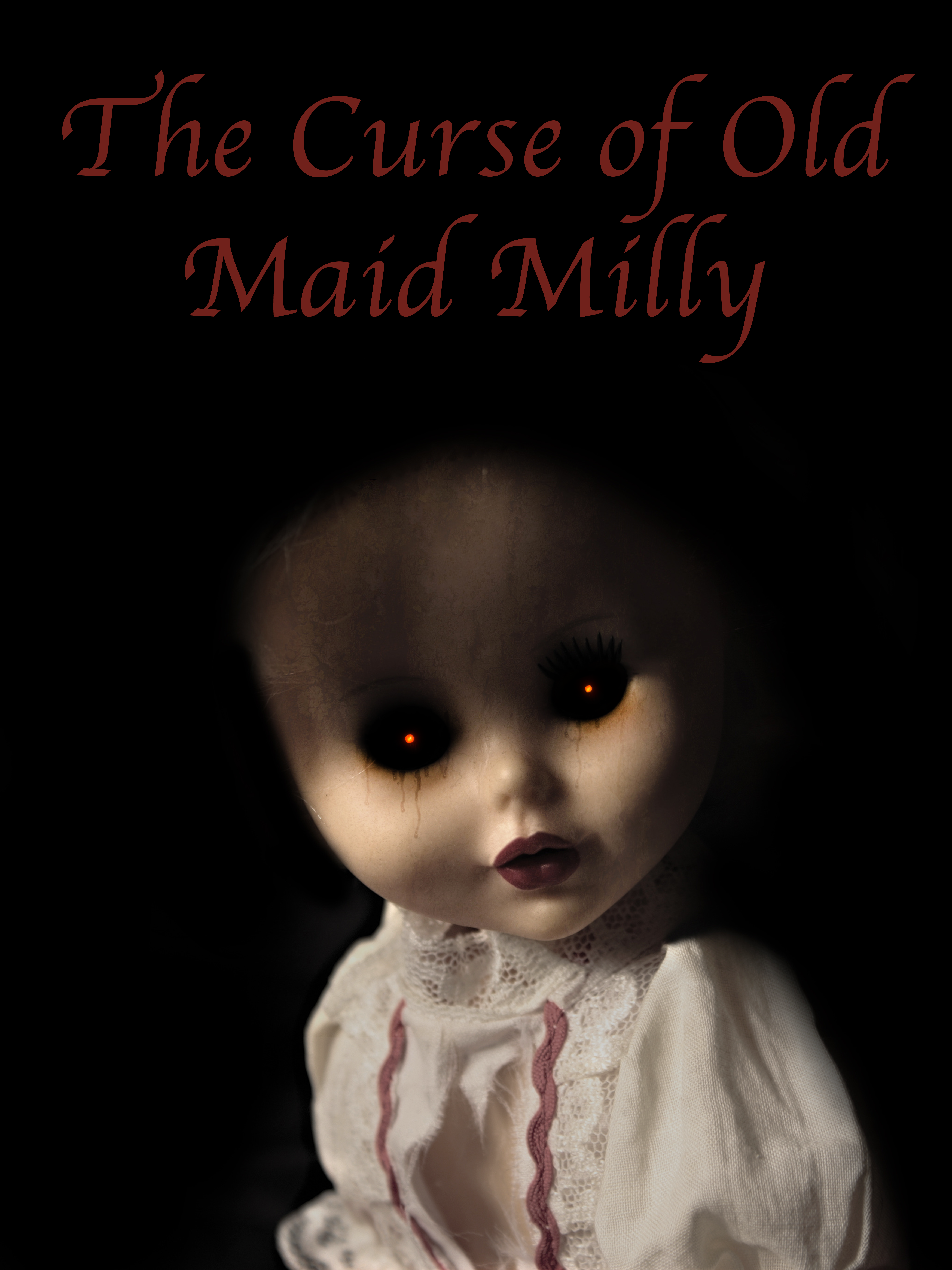 A doll depicting Old Maid Milly