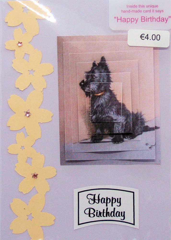 Handmade 'Happy Birthday' Card - 21