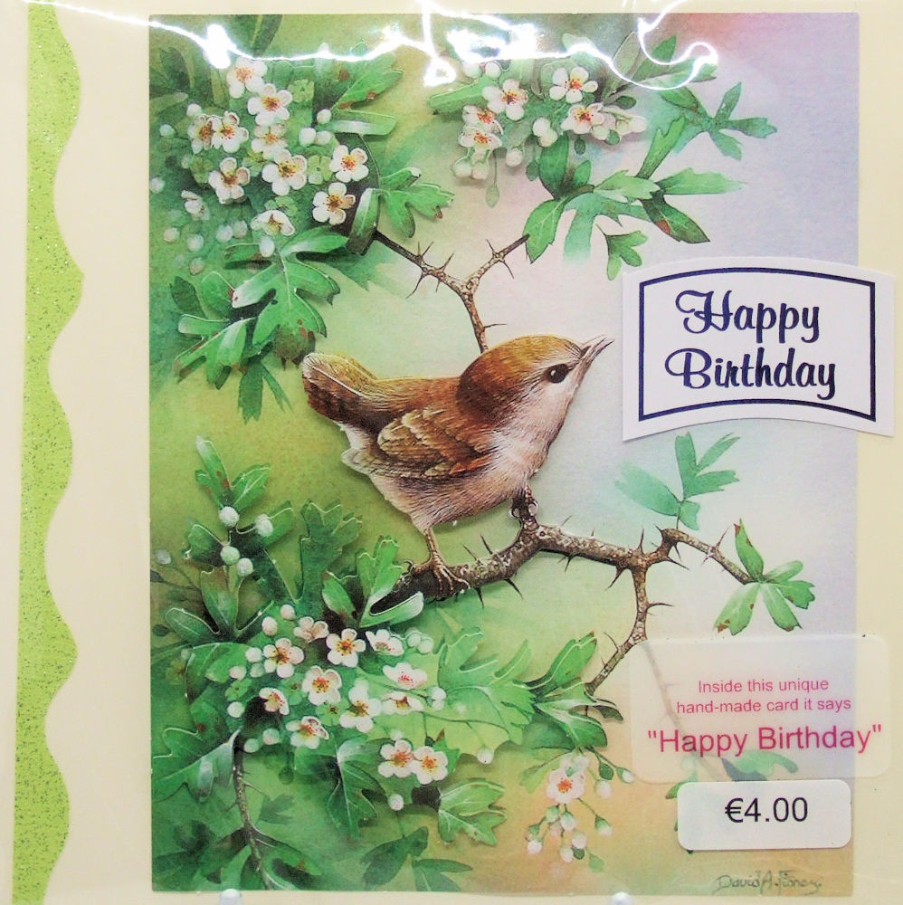 Handmade 'Happy Birthday' Card - 37