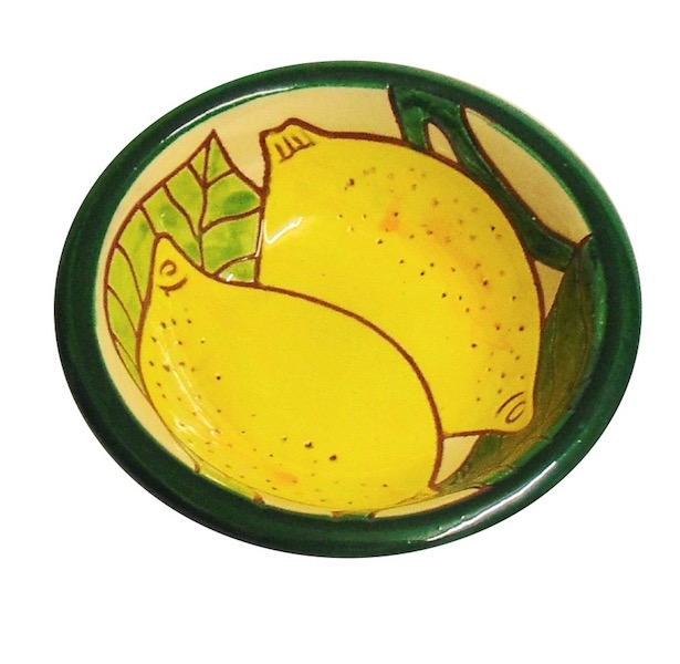 Lemons Design Tapas Bowl Spanish Ceramics