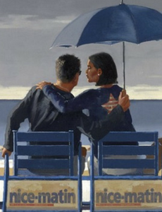 Blue Blue Jack Vettriano Limited Edition