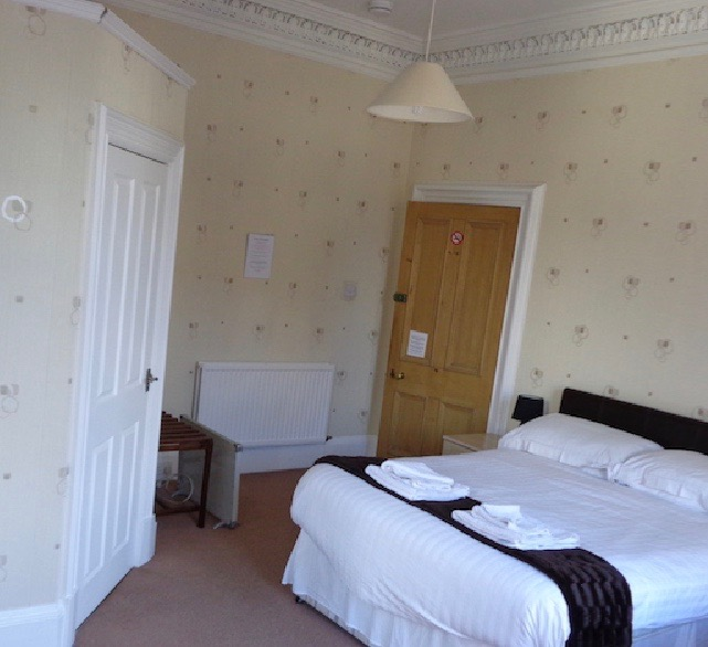 The family guest room at at Lindean Guest House Dumfries