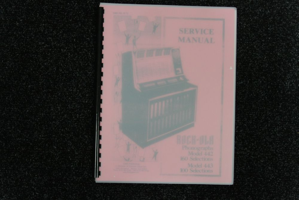 Rock-ola - Service Manual - Model 442 443