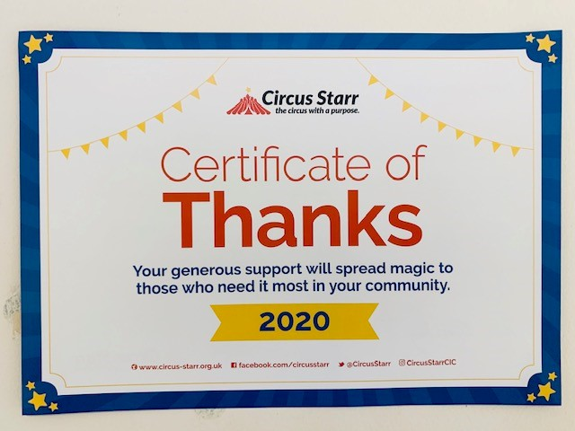 Circus Starr Support Children