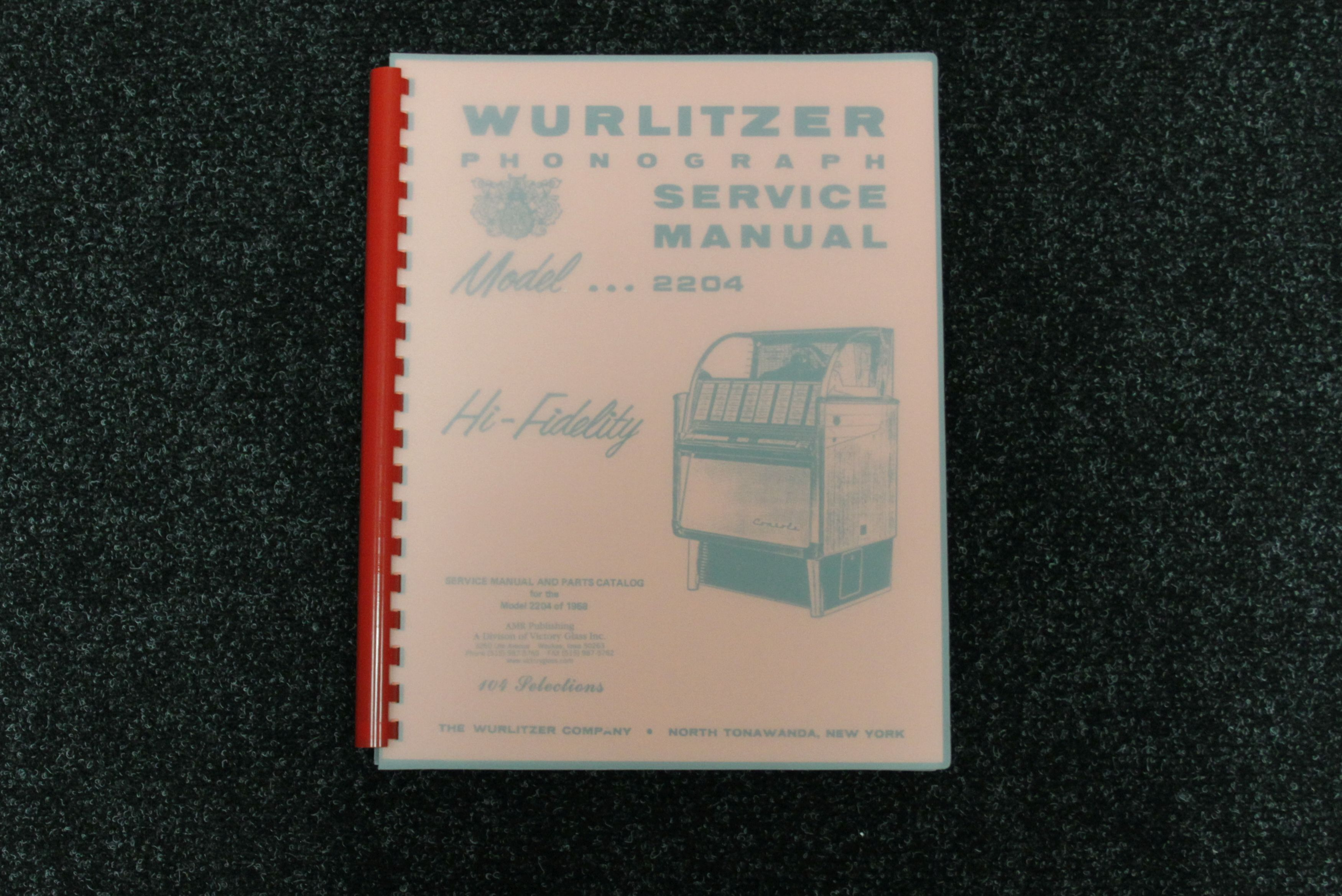Wurlitzer Service Manual 2204