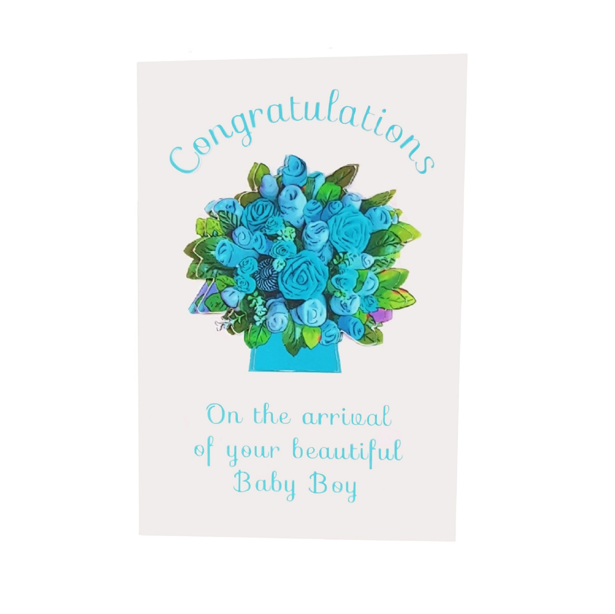 Congratulations - On the arrival of your beautiful Baby Boy