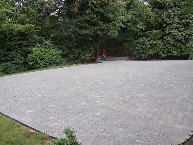 New block paved driveways West Byfleet