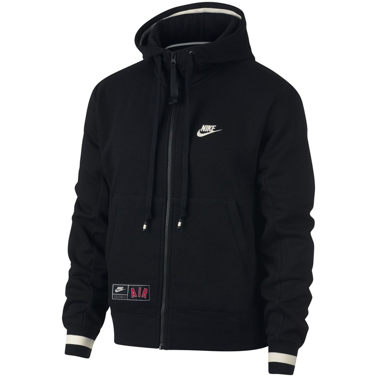 Nike Air Max Full zip Black-White-Red