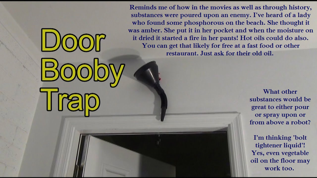 Door trap graphic