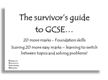20 more marks foundation skills
