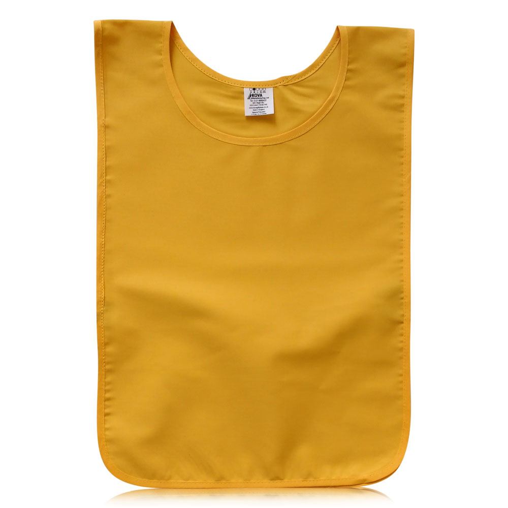 Yellow Polycotton Tabards.