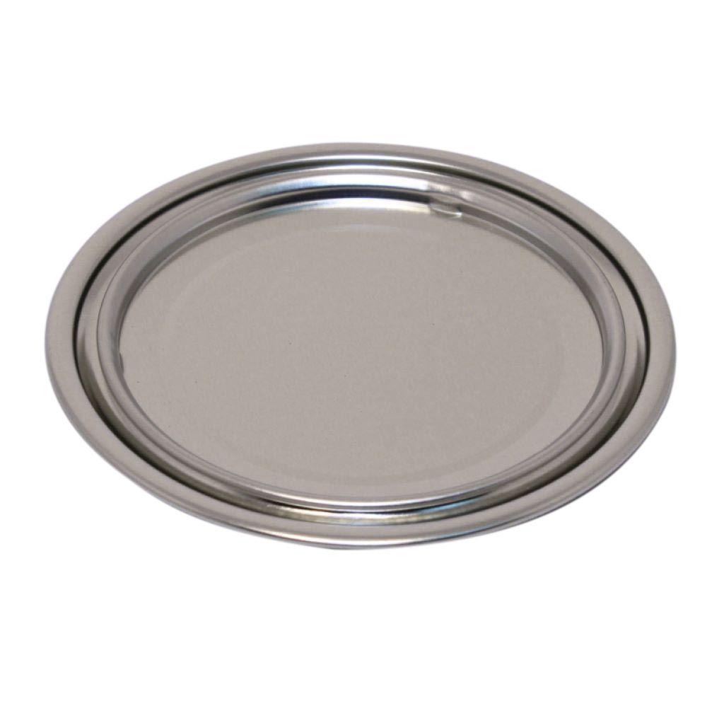 99mm Food Can Lids Plain Lids OR Ring Pull Lids